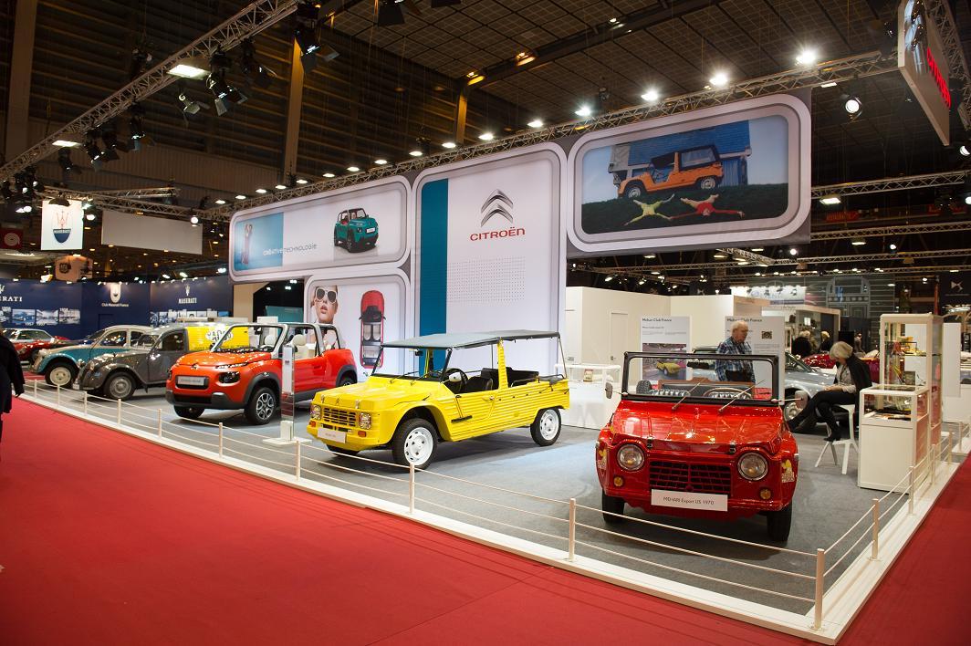 Citro n e mehari hviezda retromobile 2016 len pre for Salon porte de versailles retromobile