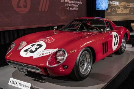 Najdrahšie auto? Opäť Ferrari 250 GTO...