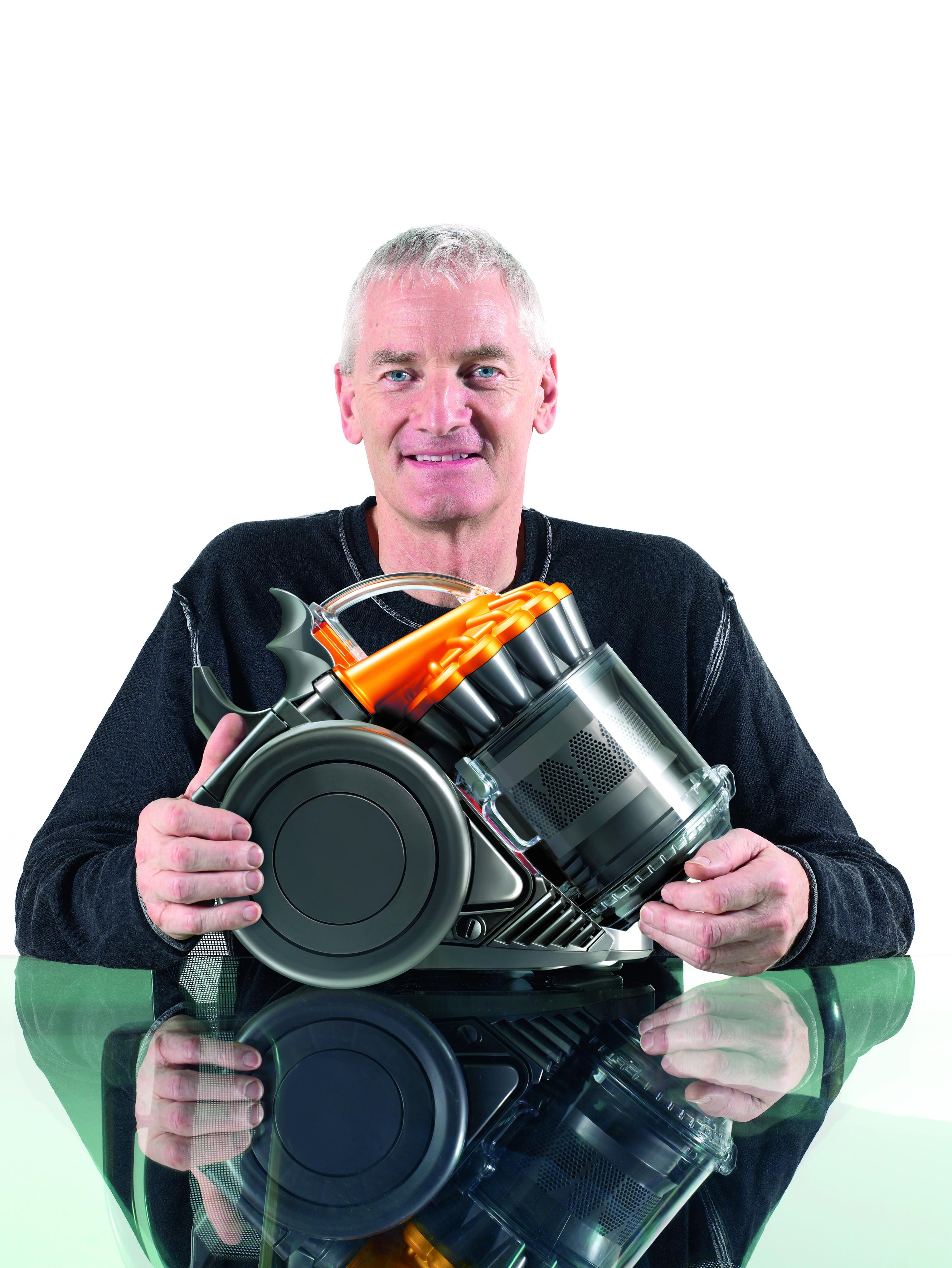 Britský vizionár James Dyson,