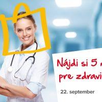 5 minút pre zdravie