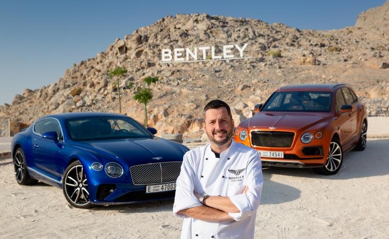 Bentley ponúkol vrchol luxusu v rámci gastronómie