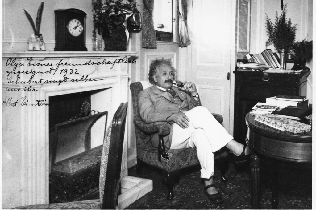"Einstein ""List o Bohu"""