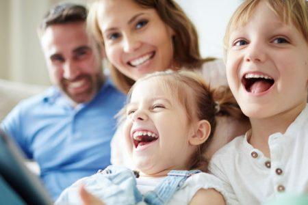 radosť detí