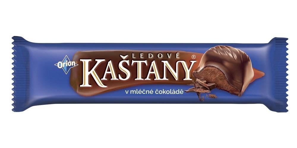 Ledové Kaštany po novom aj pre milovníkov mliečnej čokolády