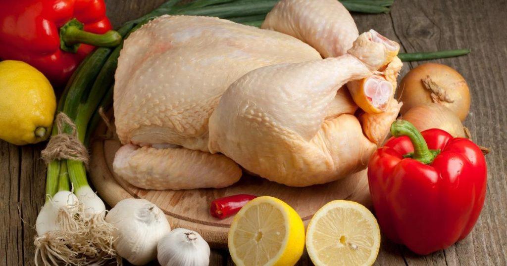 Čerstvé kurča z Tesca