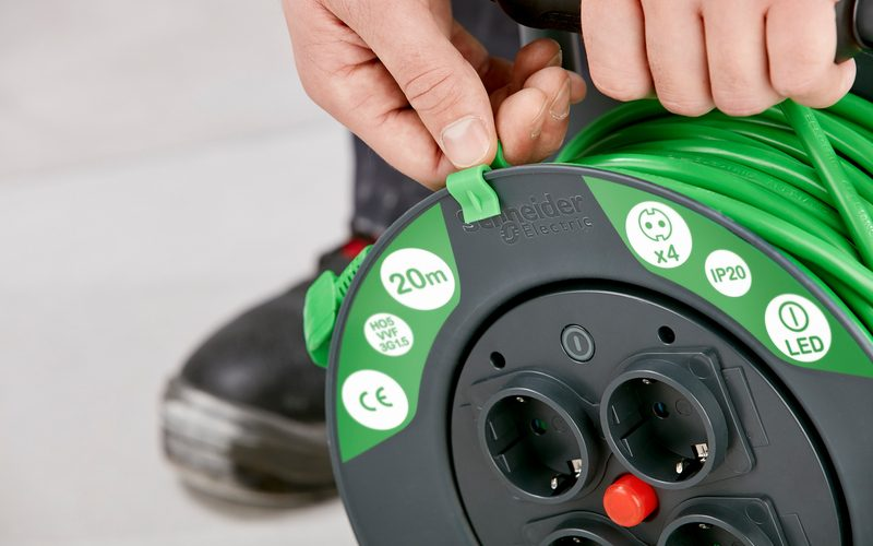 Schneider Electric / Cabel Wheels / Kabeltrommeln