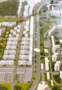 Nový model Slnečníc ukazuje, ako bude celá štvrť vyzerať po dokončení